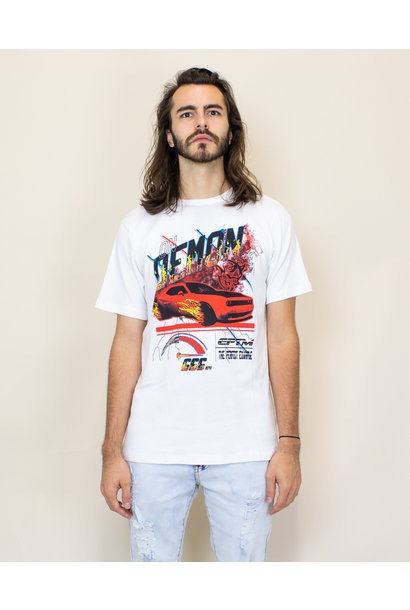EPTM On Demon Time Tee - White/Red