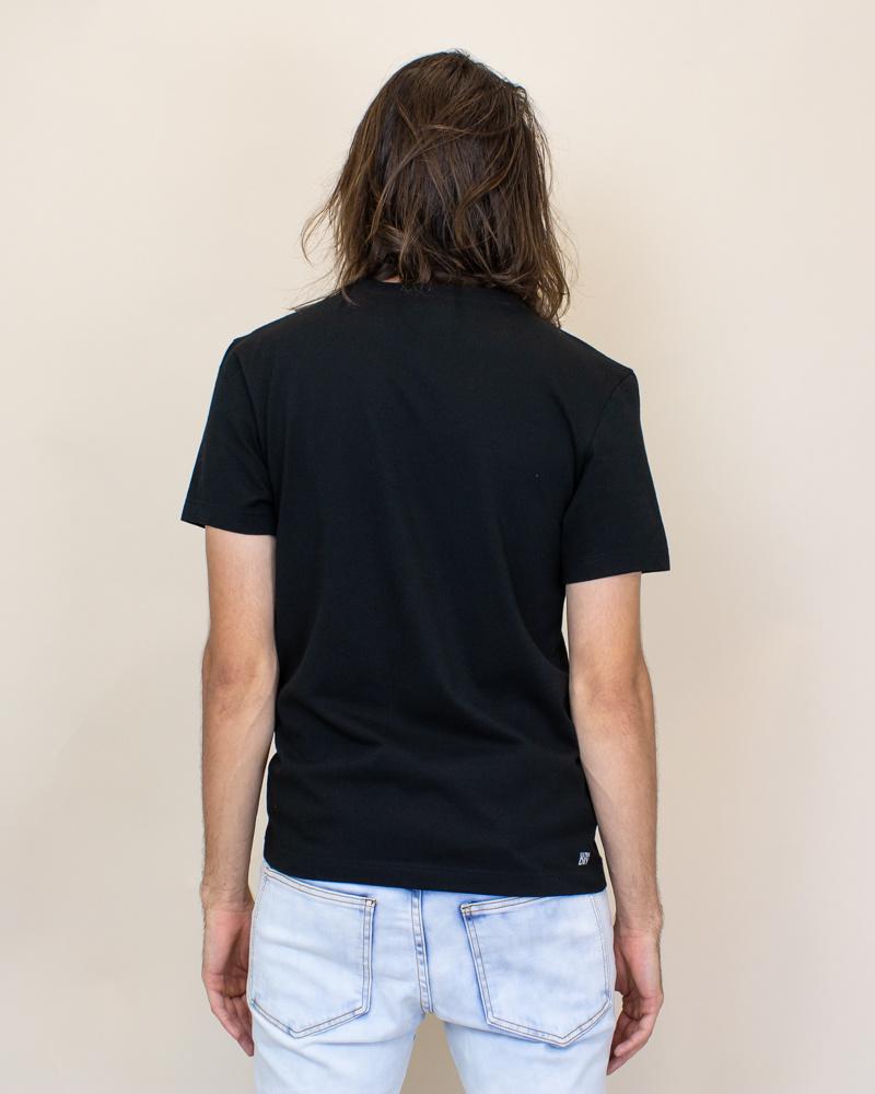 Lacoste 3D Print Crocodile Jersey T-shirt - Black-2