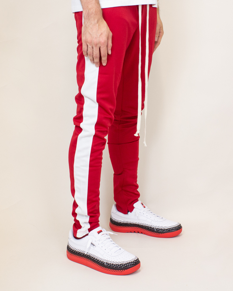 EPTM Track Pants - Red-2