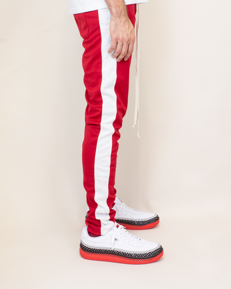 EPTM Track Pants - Red-3