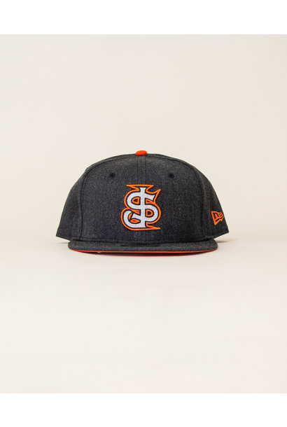 New Era Sajgia Snapback - Gray/Orange