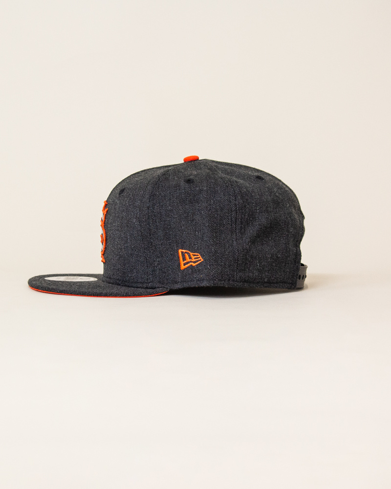 New Era Sajgia Snapback - Gray/Orange-2