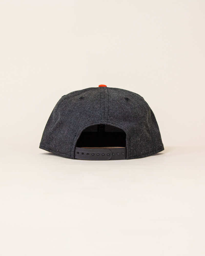 New Era Sajgia Snapback - Gray/Orange-3