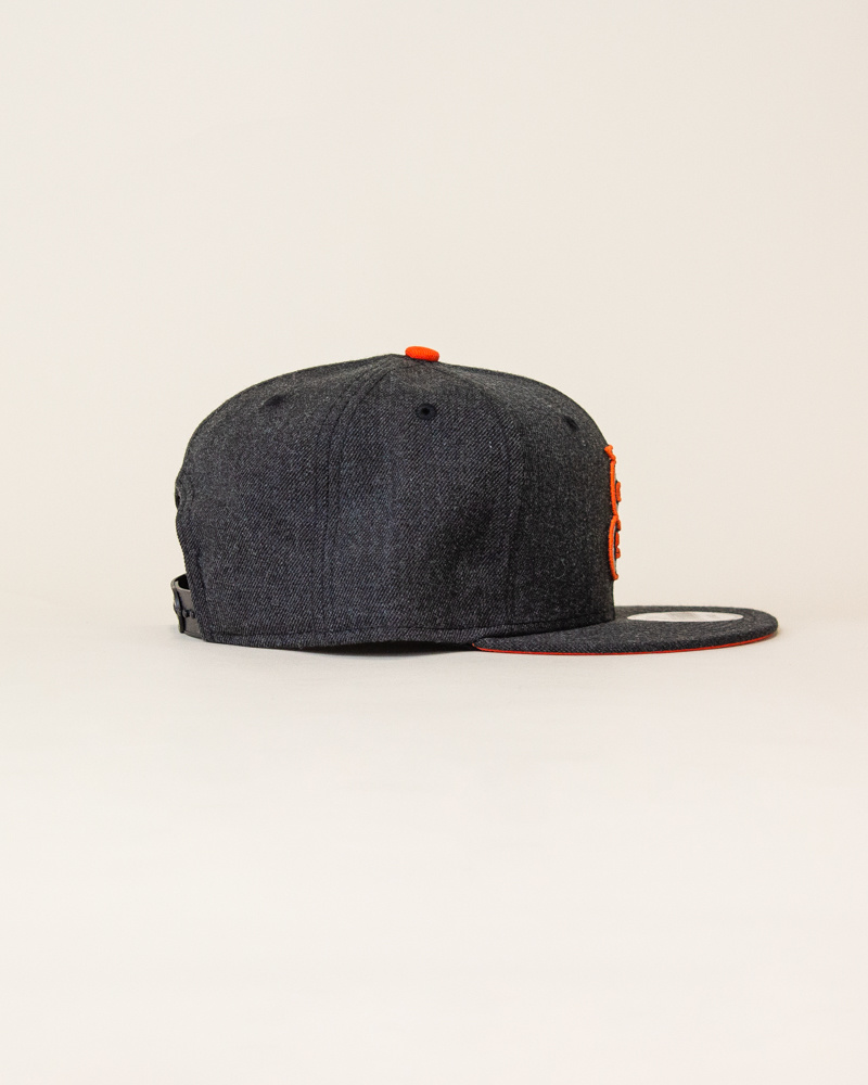 New Era Sajgia Snapback - Gray/Orange-4