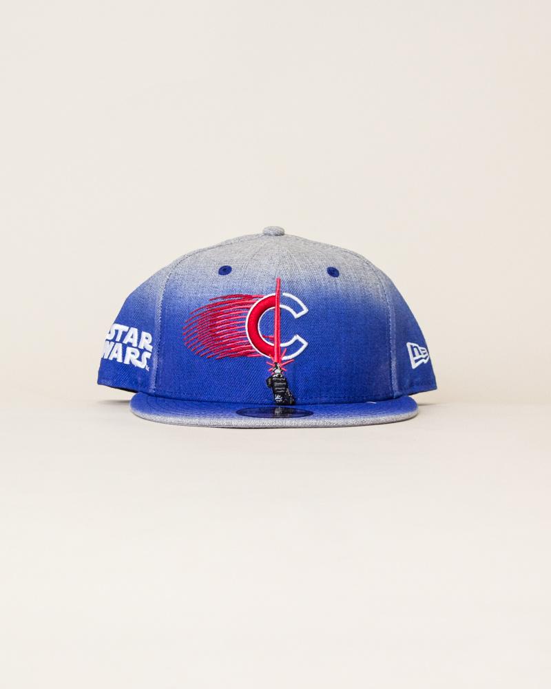 New Era Chicago Cubs X Star Wars Snapback - Blue-1