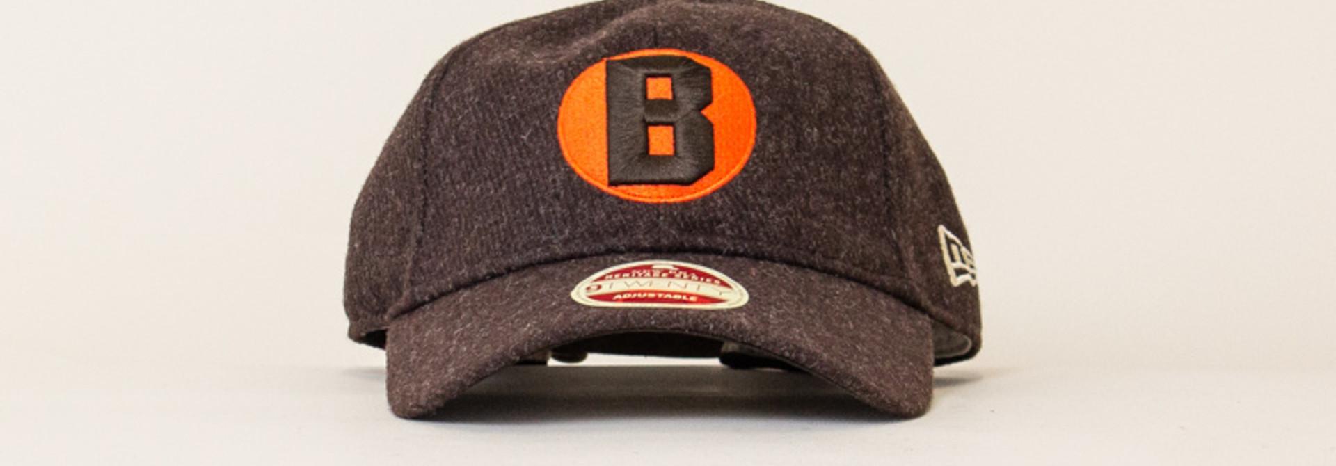 New Era Vintage Team Balsox Strapback - Brown/Orange
