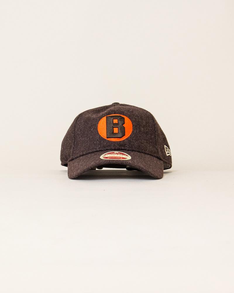 New Era Vintage Team Balsox Strapback - Brown/Orange-1