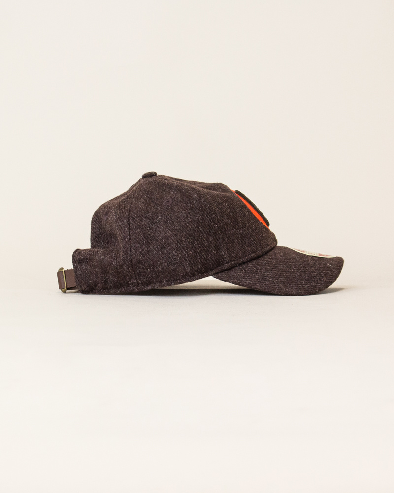 New Era Vintage Team Balsox Strapback - Brown/Orange-4
