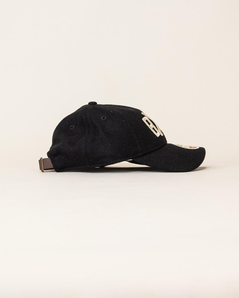 New Era Vintage Team Bacgia Strapback - Black/Cream-4