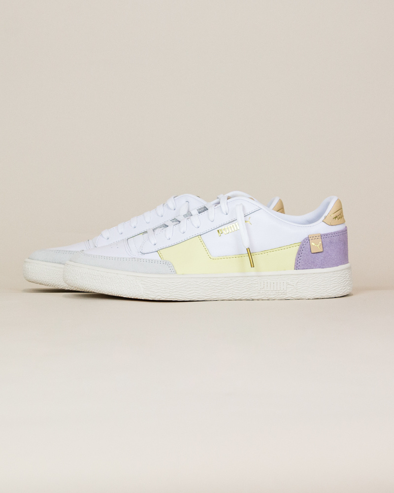 Puma Ralph Sampson MC - Pastel Yellow / White-2