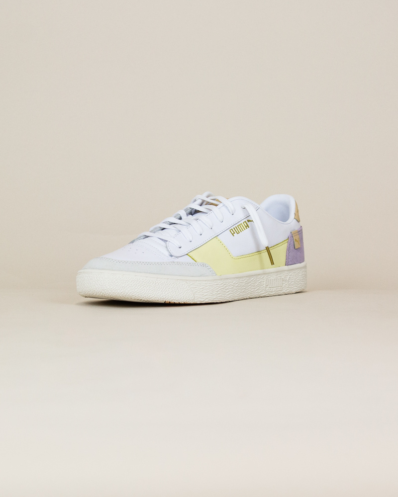 Puma Ralph Sampson MC - Pastel Yellow / White-3