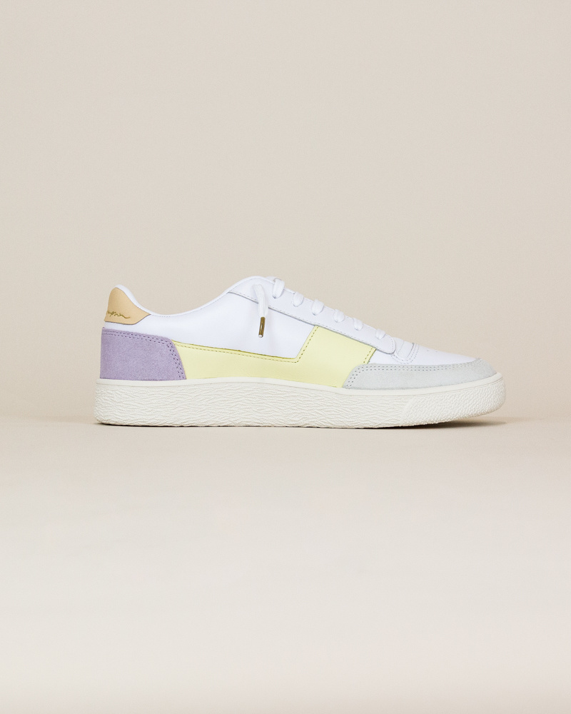 Puma Ralph Sampson MC - Pastel Yellow / White-4