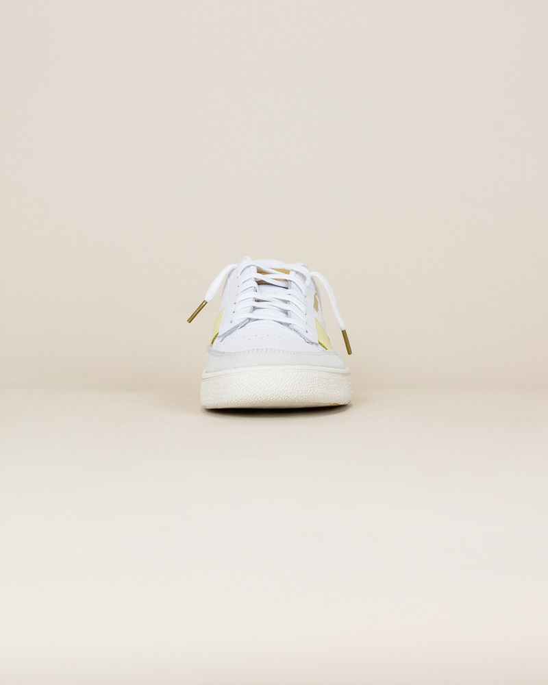 Puma Ralph Sampson MC - Pastel Yellow / White-5