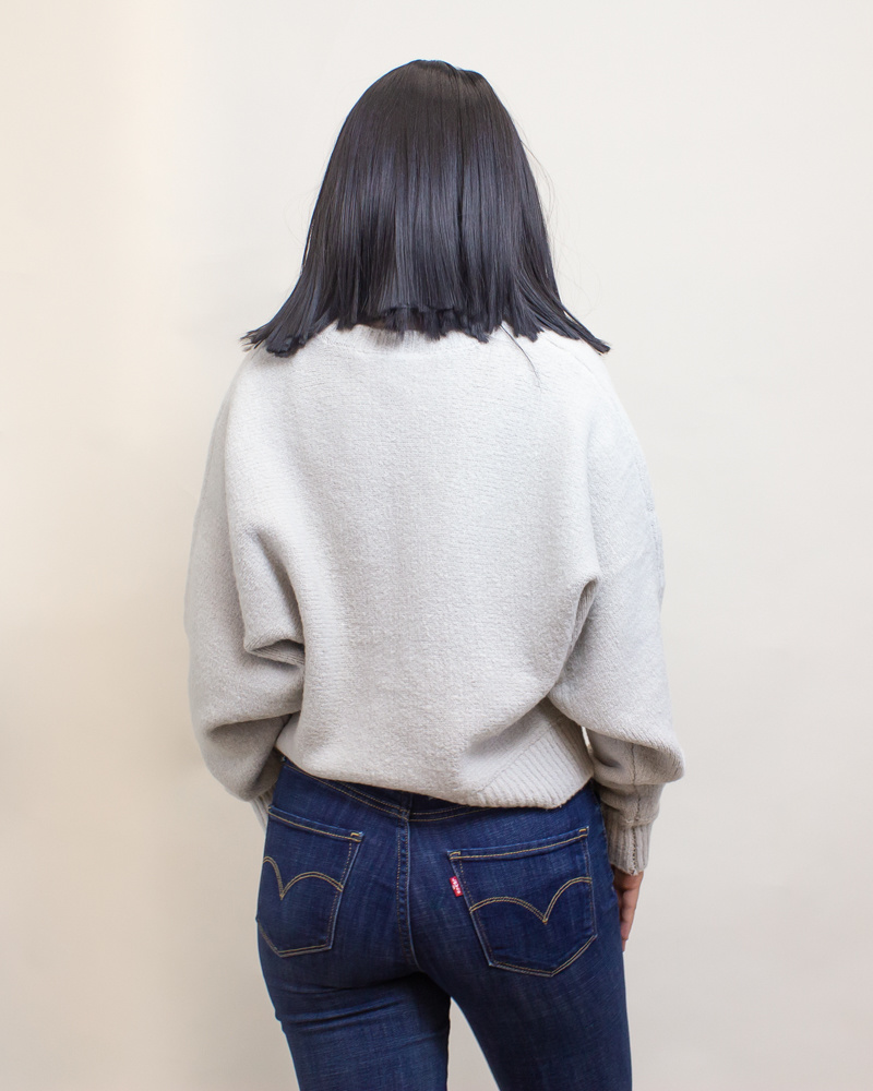 Double Zero Sweater - Moth Gray-2