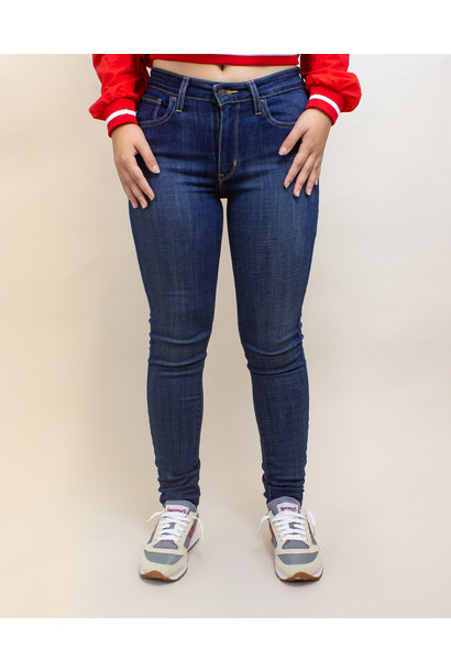 Levi's 721 High Rise Skinny Jeans - Blue Story
