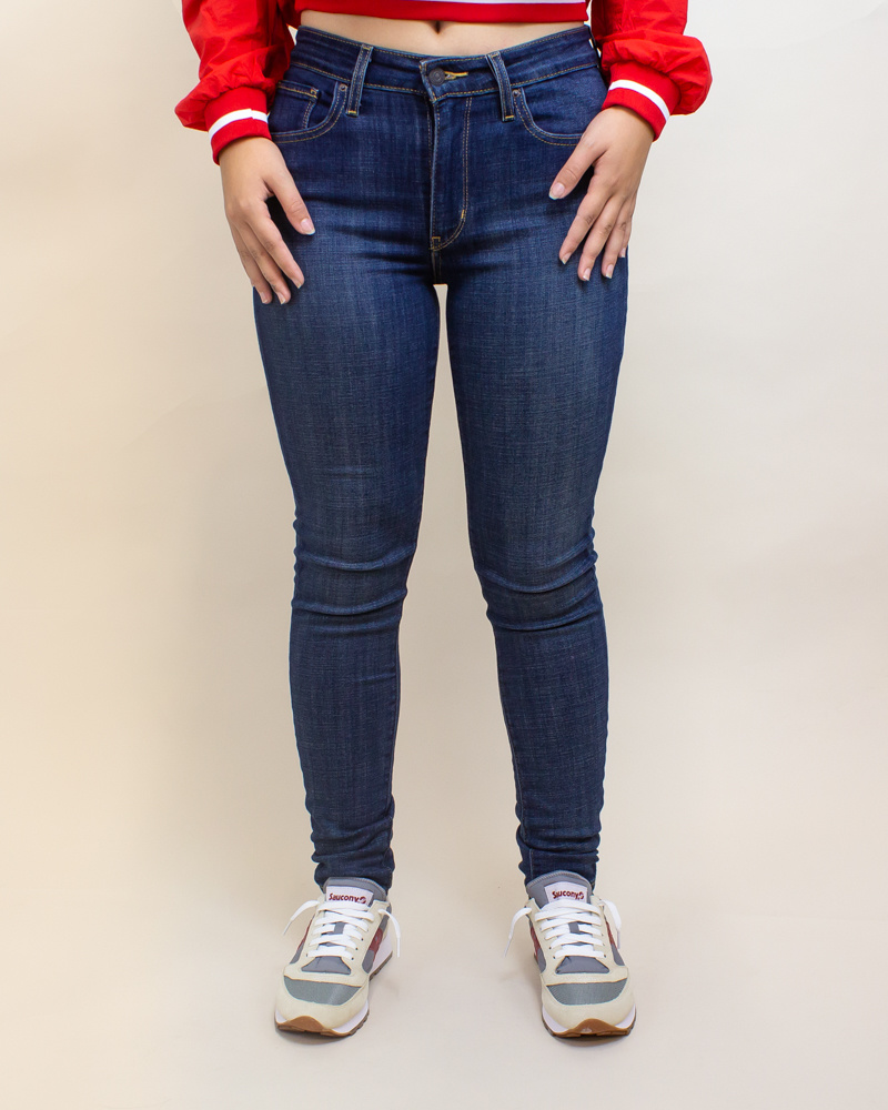 Levi's 721 High Rise Skinny Jeans - Blue Story-1
