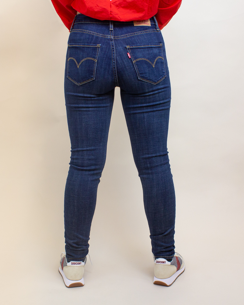 Levi's 721 High Rise Skinny Jeans - Blue Story-4