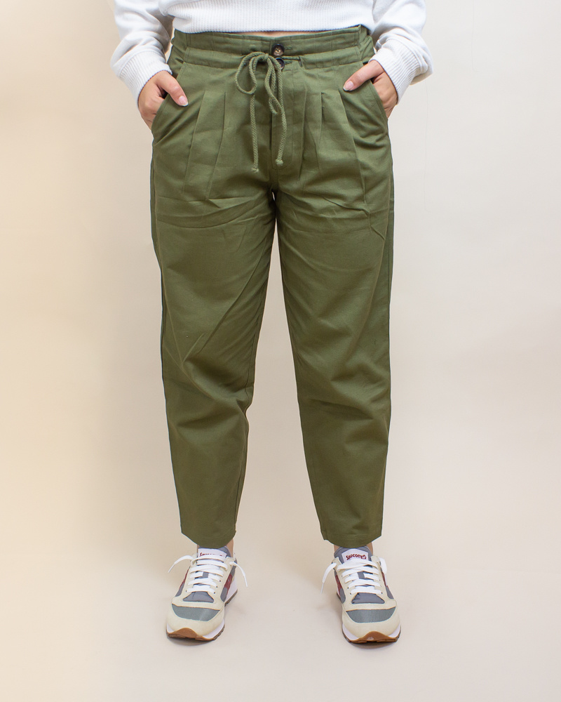 Favlux Cargo Pants - Olive-1