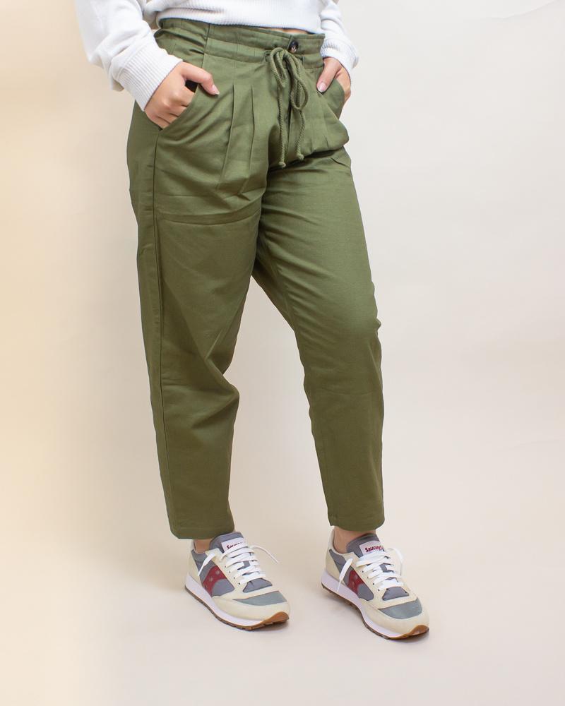 Favlux Cargo Pants - Olive-2