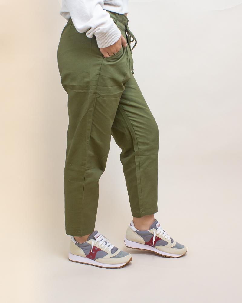 Favlux Cargo Pants - Olive-3