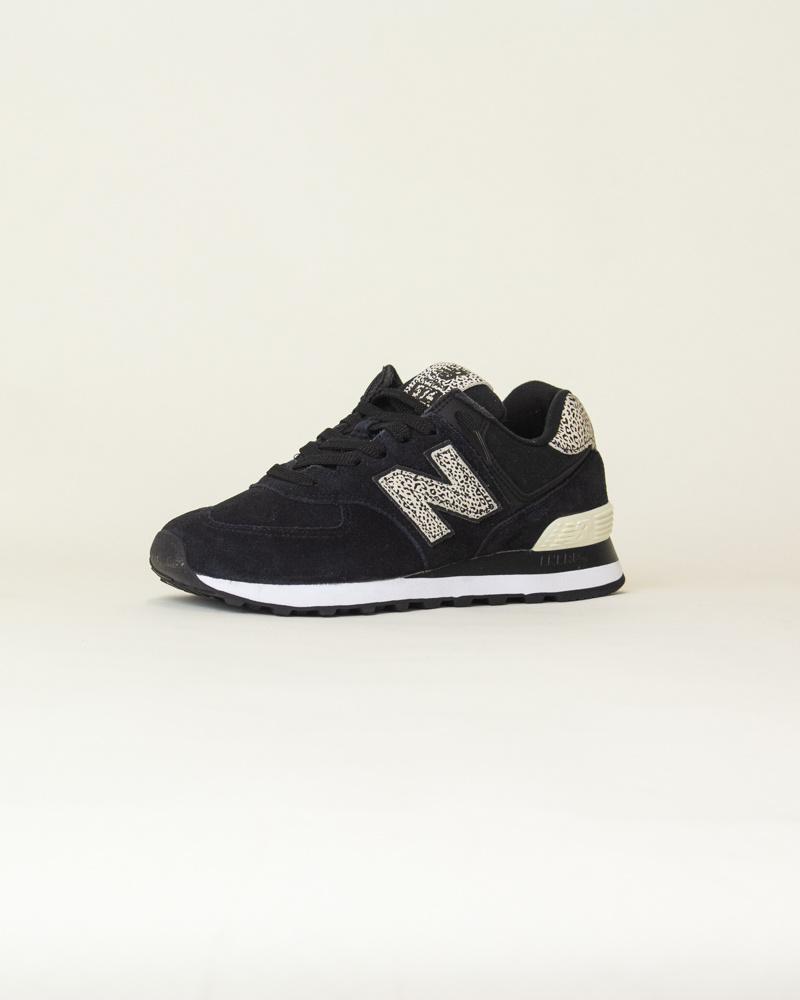 New Balance WL 574 ANC - Black/Angora-3