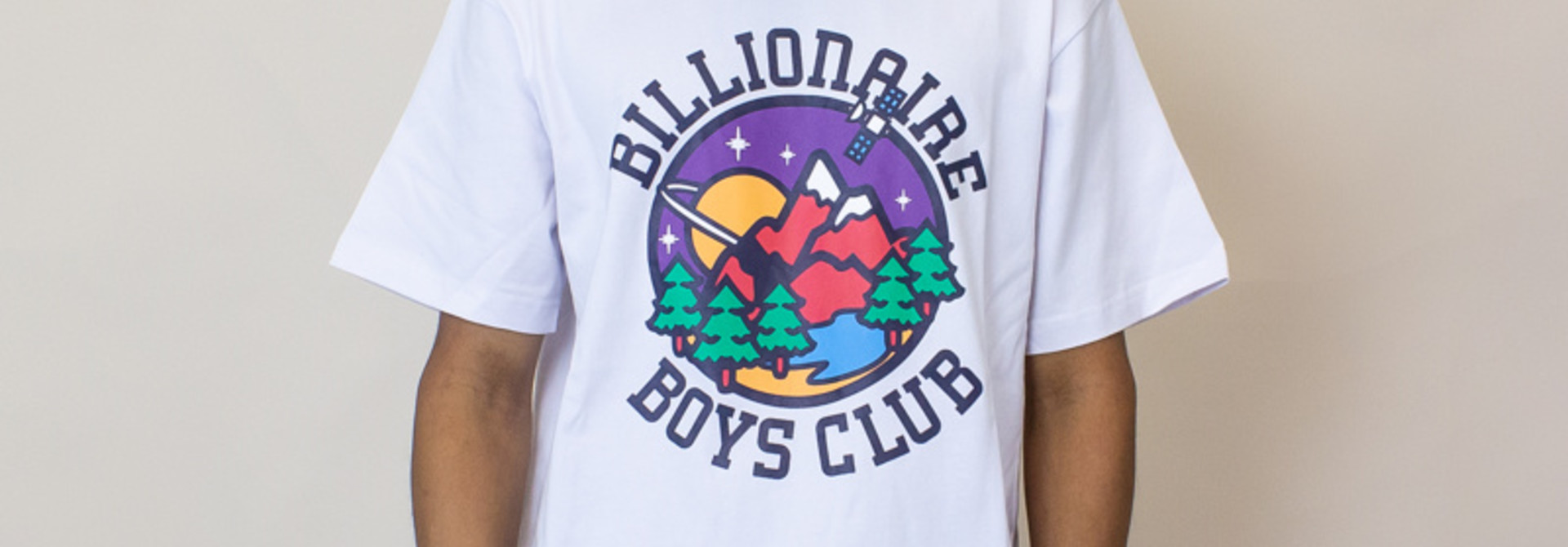 Billionaire Boys Club Nature SS Tee - White