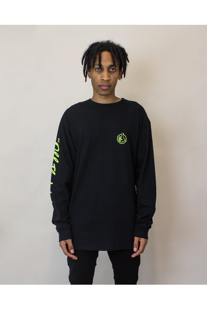 Vans BMX Off The Wall L/S T-Shirt - Black