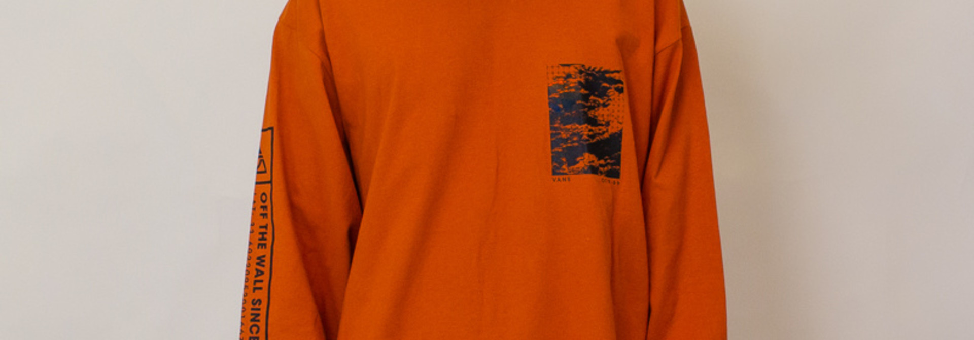 Vans 66 Supply L/S T-Shirt - Orange