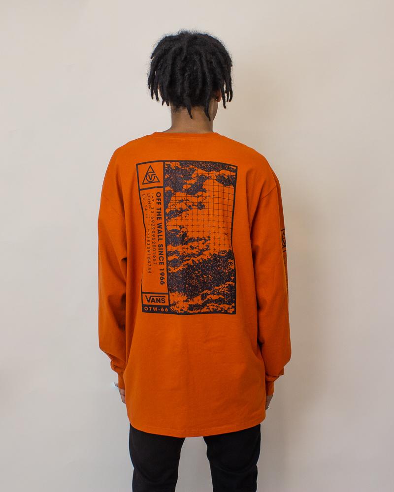 Vans 66 Supply L/S T-Shirt - Orange-2