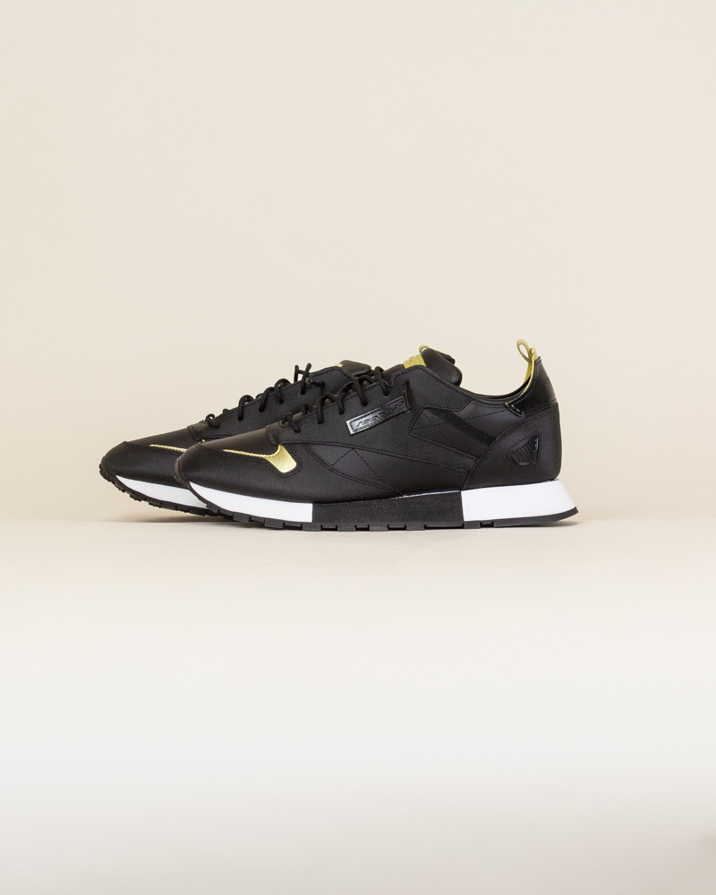 Reebok Classic Leather Reedux - Black/Gold-2