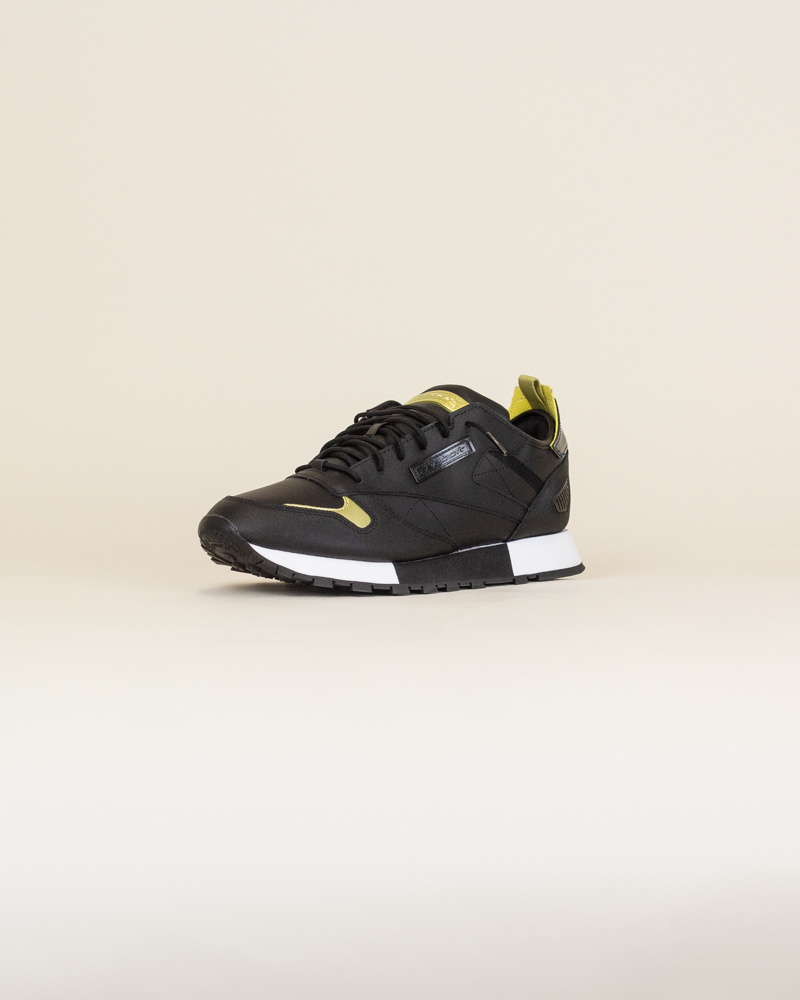 Reebok Classic Leather Reedux - Black/Gold-3