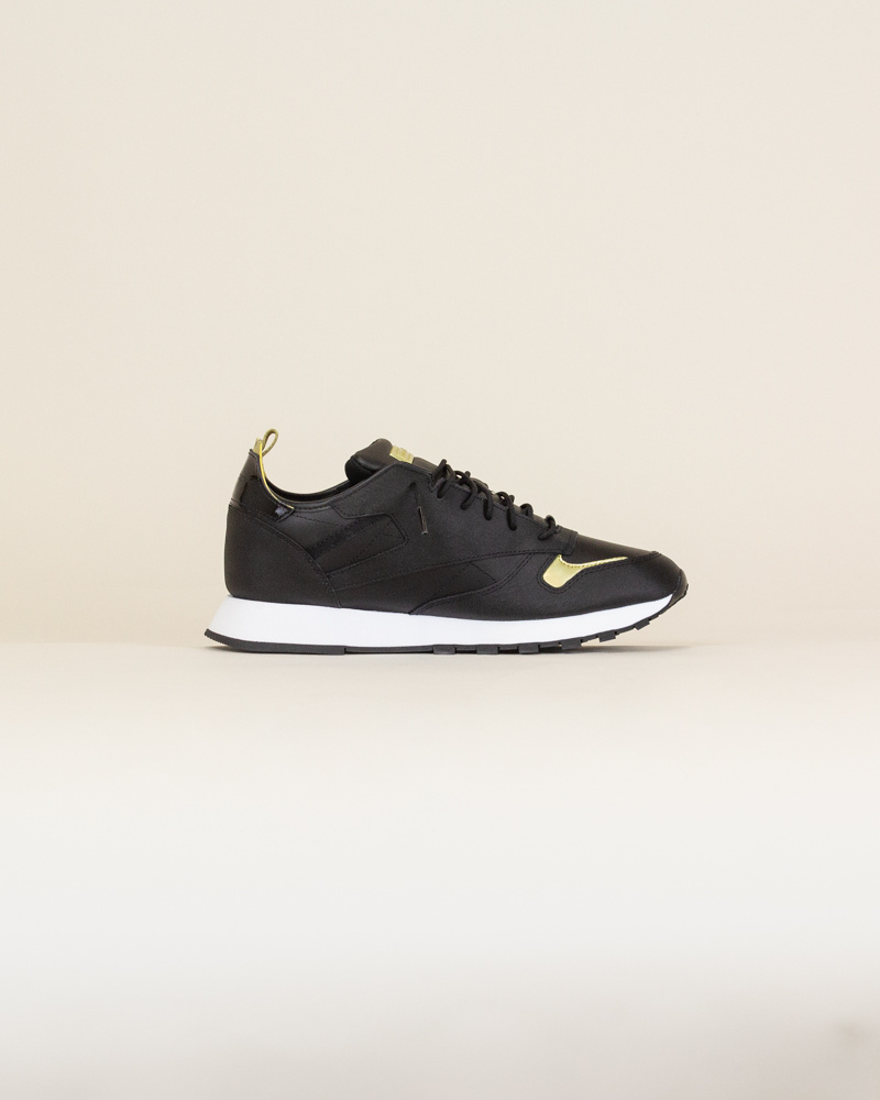 Reebok Classic Leather Reedux - Black/Gold-4