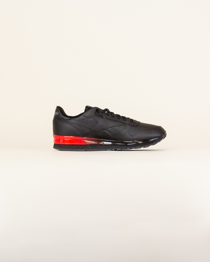 Reebok Classic Leather - Black/Red-4
