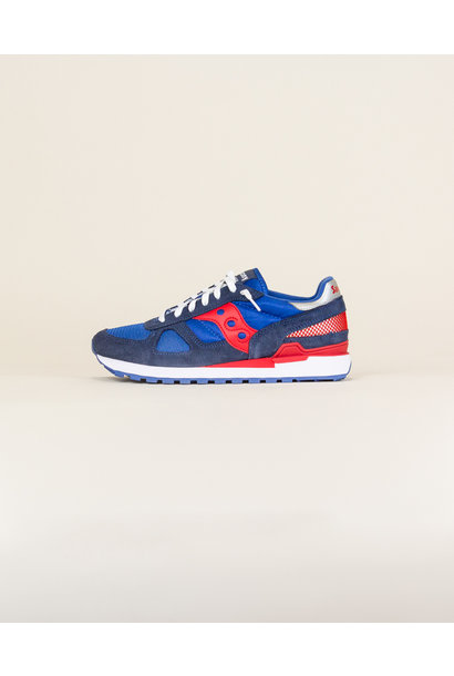 Saucony Shadow Original - Denim/ High Risk Red