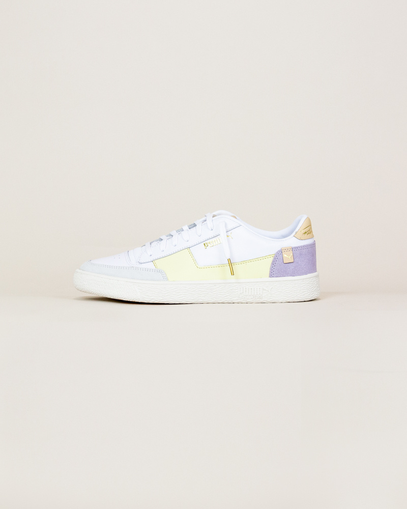 Puma Ralph Sampson MC - Pastel Yellow / White-1