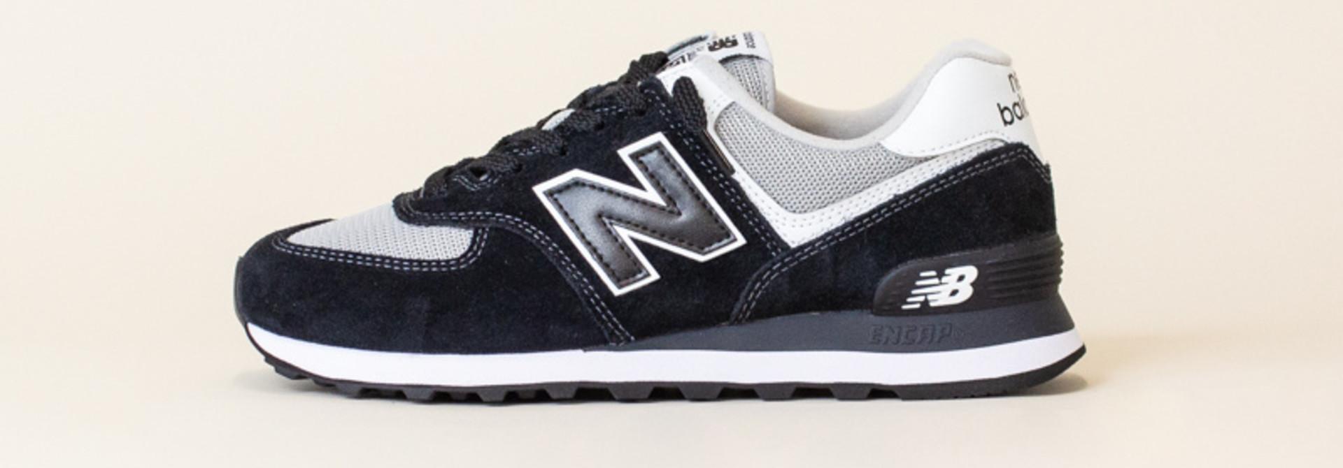 New Balance 574 SSN - Black/White