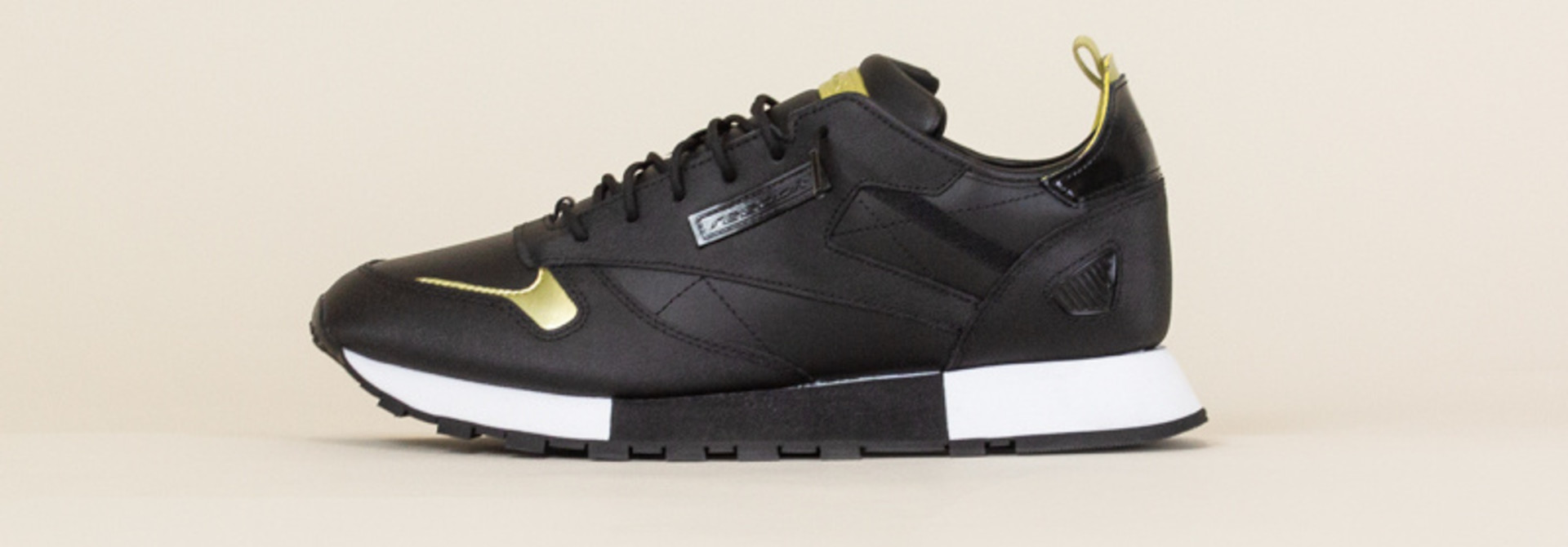 Reebok Classic Leather Reedux - Black/Gold
