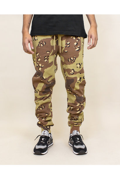 Staple Pigeon Garment Wash Sweatpant - Camo
