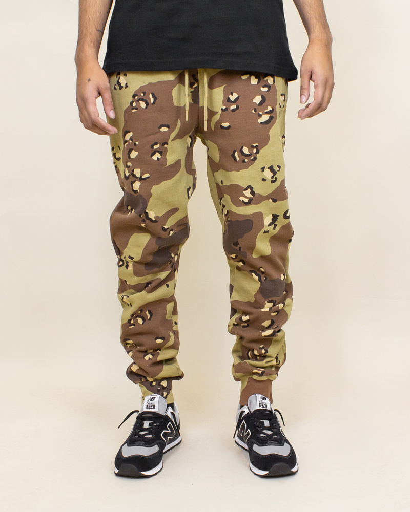 Staple Pigeon Garment Wash Sweatpant - Camo-1
