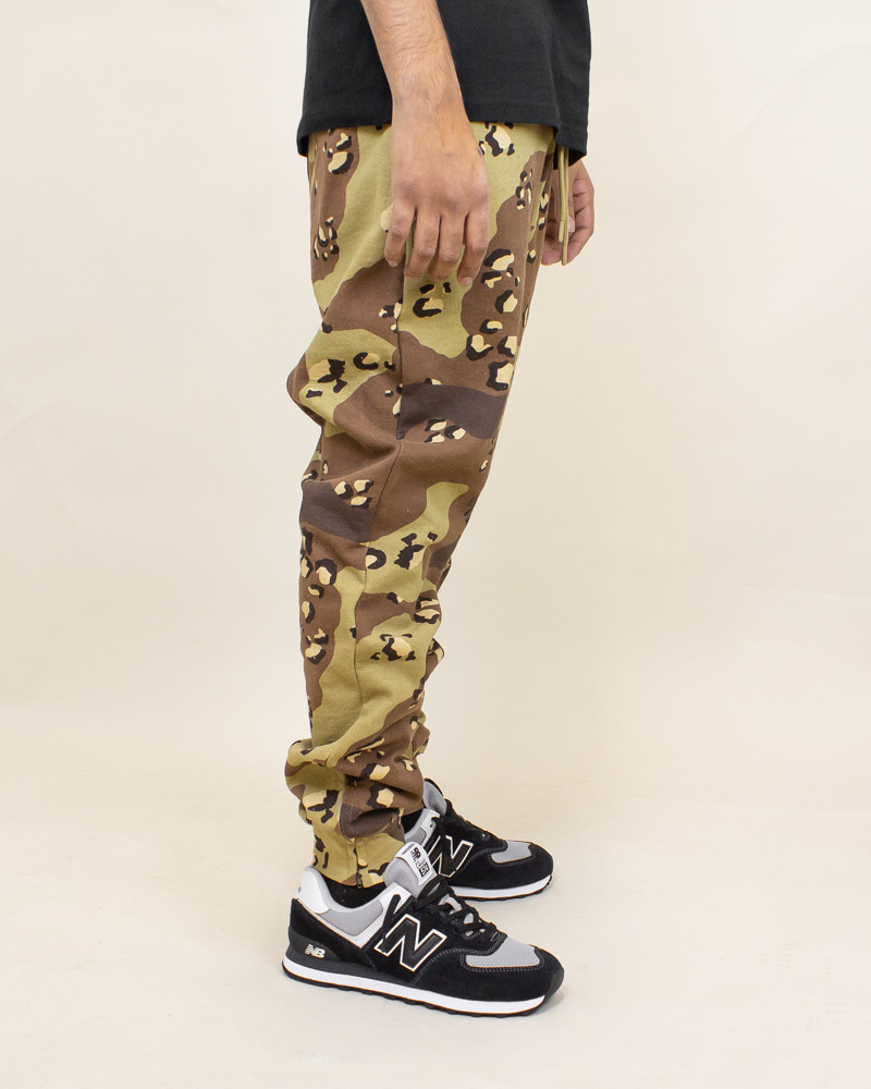 Staple Pigeon Garment Wash Sweatpant - Camo-2