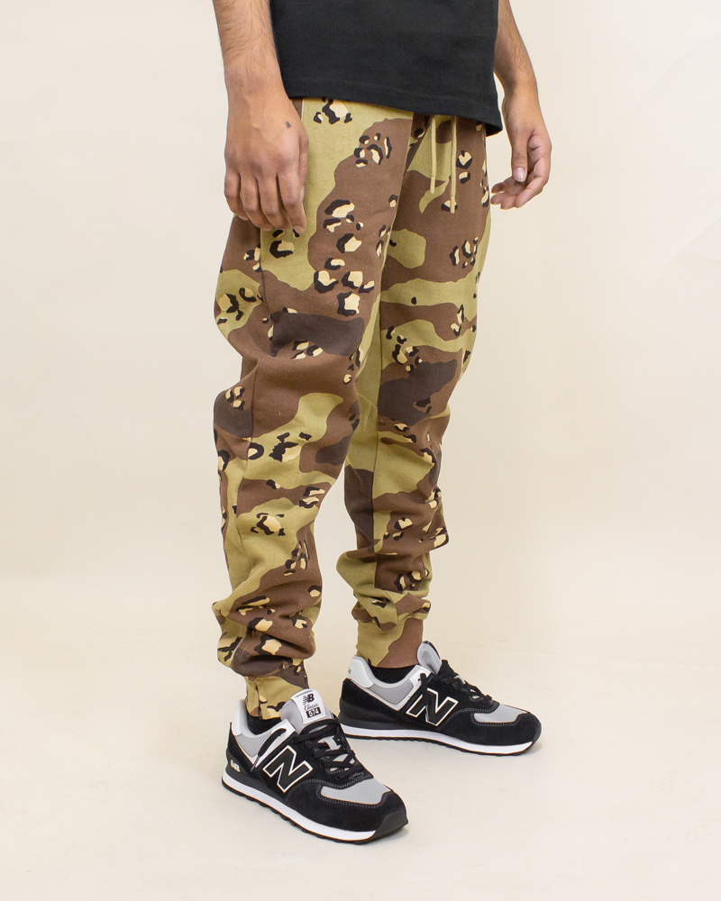 Staple Pigeon Garment Wash Sweatpant - Camo-3