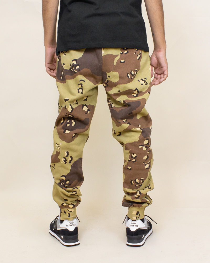 Staple Pigeon Garment Wash Sweatpant - Camo-4