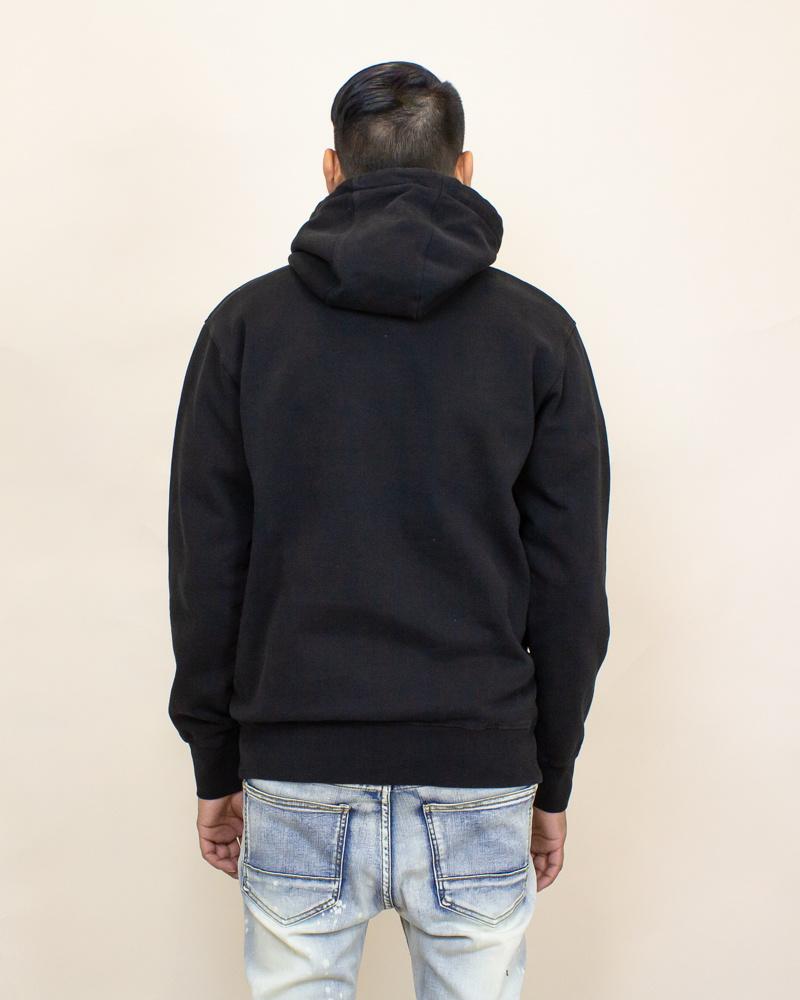 Staple Pigeon Garment Wash Hoodie - Black-2