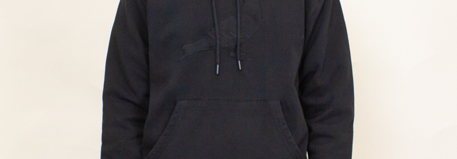 Staple Pigeon Garment Wash Hoodie - Black
