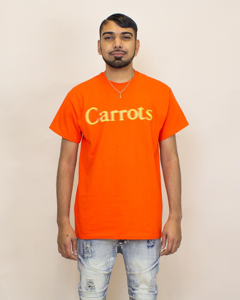 Carrots Blurred Wordmark Tee - Orange-1