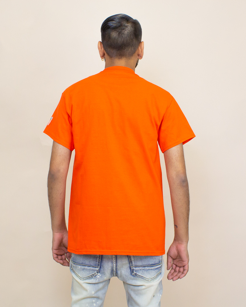 Carrots Blurred Wordmark Tee - Orange-2