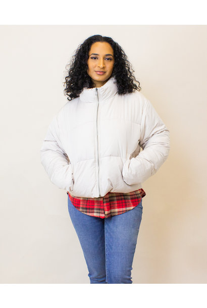 Double Zero Puffy Coat - Moth Gray