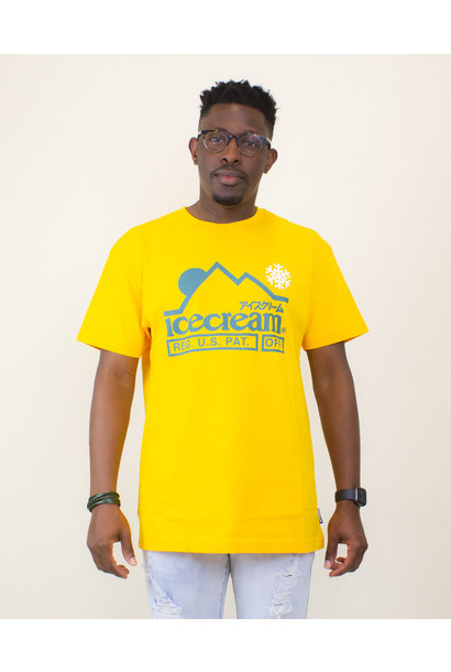 Icecream At The Top SS Tee - Spectra Yellow