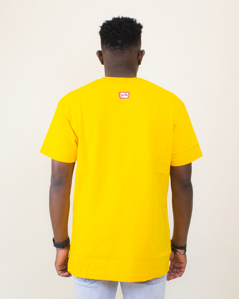 Icecream At The Top SS Tee - Spectra Yellow-2