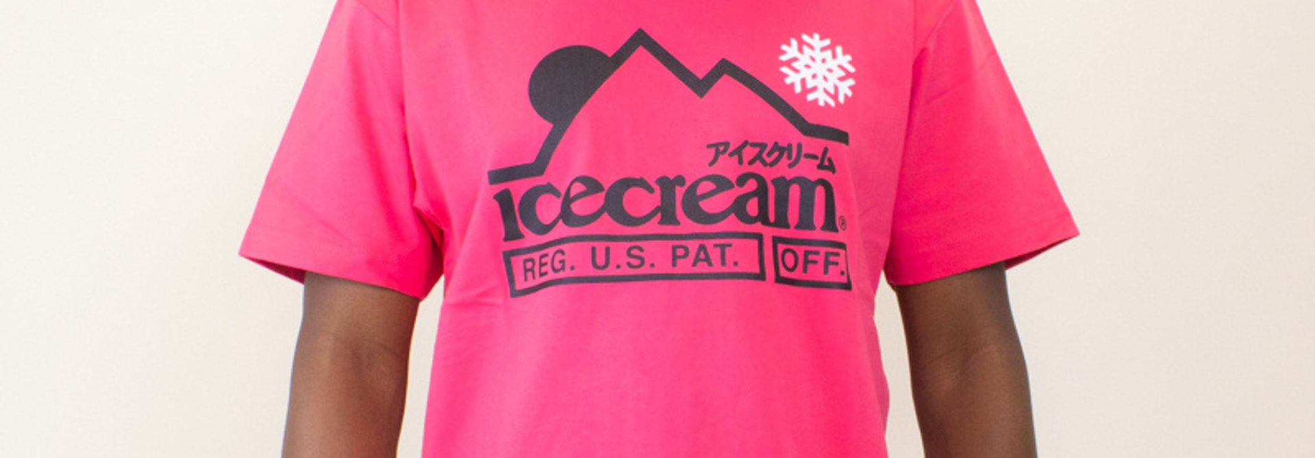 Icecream At The Top SS Tee - Claret Red